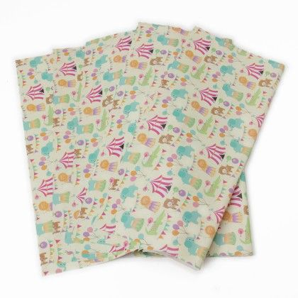 Gift Wrapping Sheets - Circus - It's All About Me