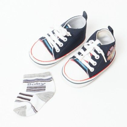 Tom And Jerry Shoes Blue - Pitter-patter