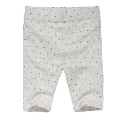 All Over Printed Girls Stone Melange Pants - FOX