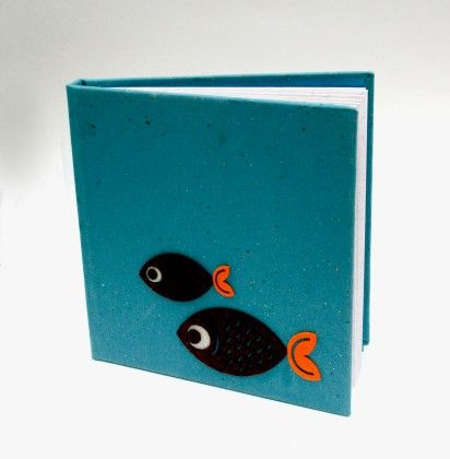 Fishes Hard Bound Diary - Two For Joy