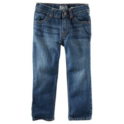 Core Straight Fit Jean Anchor Dark - OshKosh B'gosh