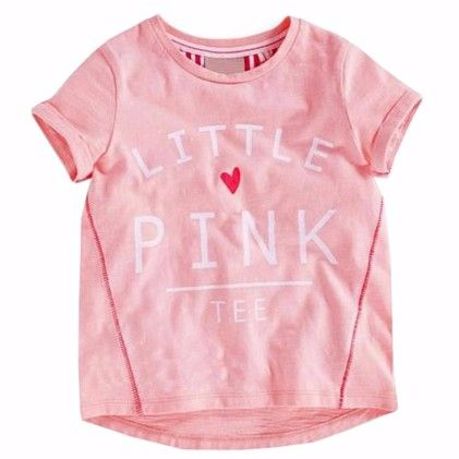 Pink Little Pink Tees Short Sleeves Tshirt - Lil Mantra