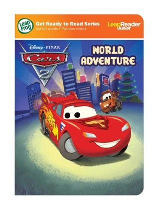 Leapreader -  Junior Book - Disney-pixar Cars 2 - World Adventure - LeapFrog