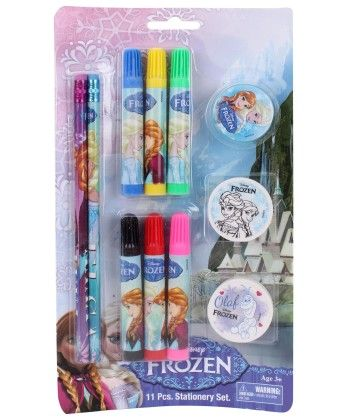 Frozen 11 Pieces Stationery Set - My Baby Excel