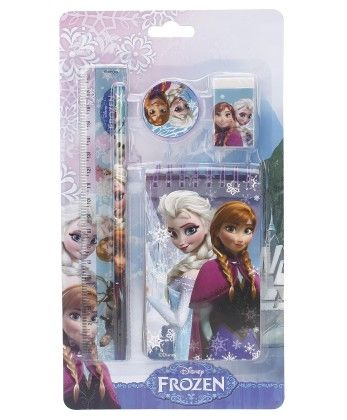 Frozen 5pieces Stationery Set - My Baby Excel