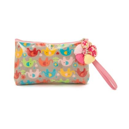 Large Multi Colour Elephants Pouch - The EED