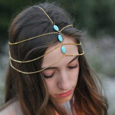 Blue Stone Headgear - Oomph