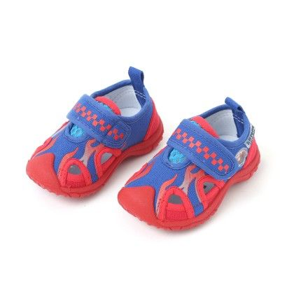 Blue And Red Boy's Casual Shoes - Kittens