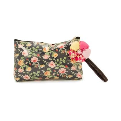 Large Multi Colour Rosette Pouch - The EED