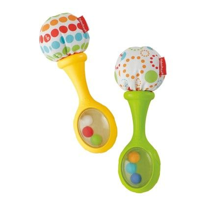 Rattle 'n Rock Maracas Musical, Multi Color - Fisher Price