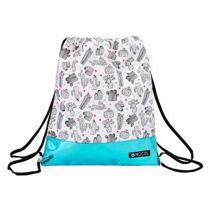 Saco Plano Cactus Drawstring Bag - Moos Bags