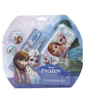 Frozen 5 Pieces Stationery Set - My Baby Excel