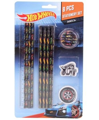 Hot Wheels Stationery Set - My Baby Excel