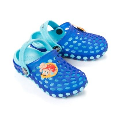 Breathable Clogs - Royal Blue - Sky Blue - Bonkerz By Anaira