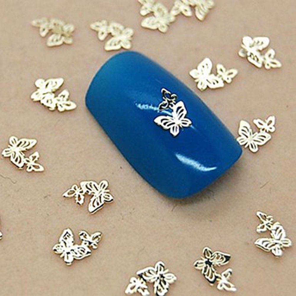 Butterfly Metal Sticker - Oomph