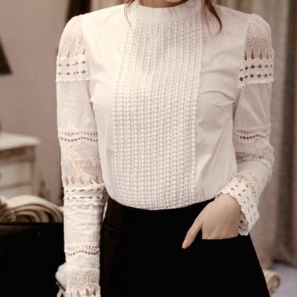 Lace Detailing Top - Oomph