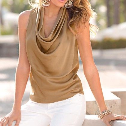 New Fashion Golden Colored Top - STUPA FASHION