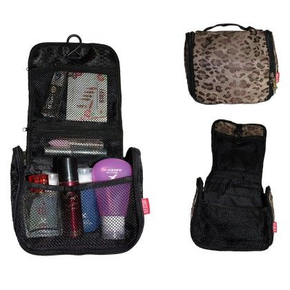 Toiletry Bag Leopard Design - Total Gift Solutions