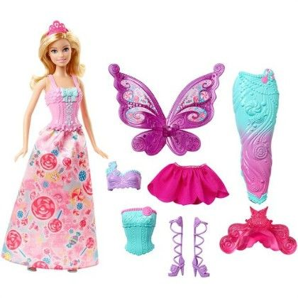 Barbie Fairytale Dress Up - Mattel