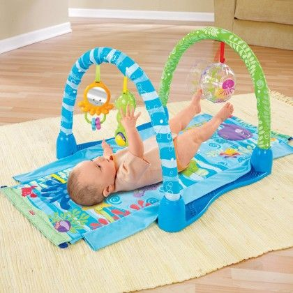 Ocean Wonders Kick And Crawl Gym - Fisher Price