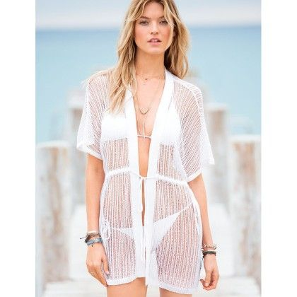 Coverup Beach Dress White - Ruby Swimwear