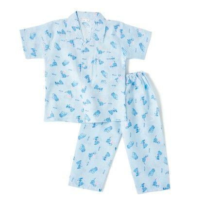 Hello Dinosaur Boys Night Suit - Blue - BownBee