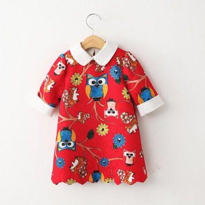 Animal Print Red T-shirt - Lil Mantra