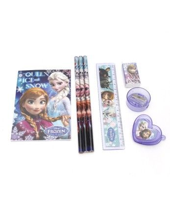 Frozen 8 Pieces Stationery Set - My Baby Excel