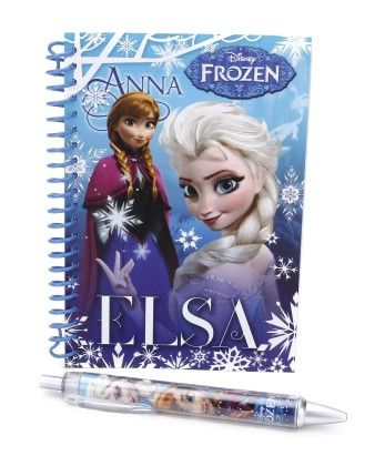 Frozen Diary And Pen Set - My Baby Excel