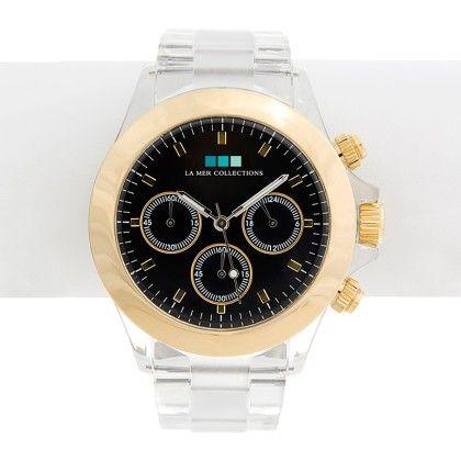 Gold - Black Dial Carpe Diem Watch - Lamer Watches