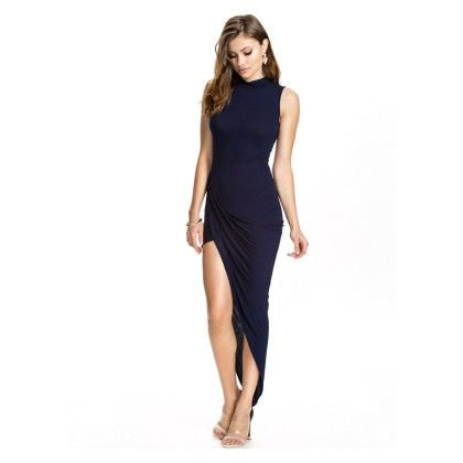 Beachwear Special Slit Dress - Mauve Collection