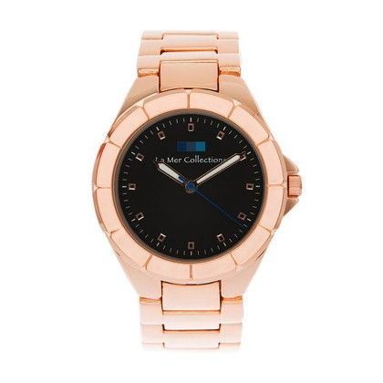 Rose Gold White Dial Ombre Watch - Lamer Watches