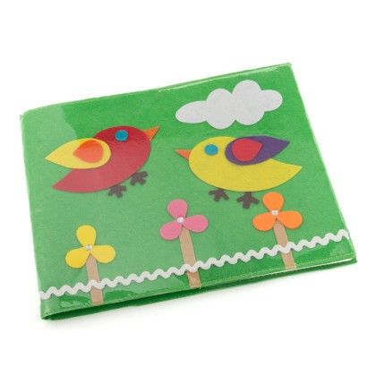 Bird Drawing Book - Green - Li'll Pumpkins