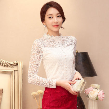 Partywear Exclusive Lace Top - Dell's World