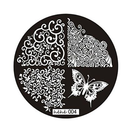 Stamp Plate Art - Oomph