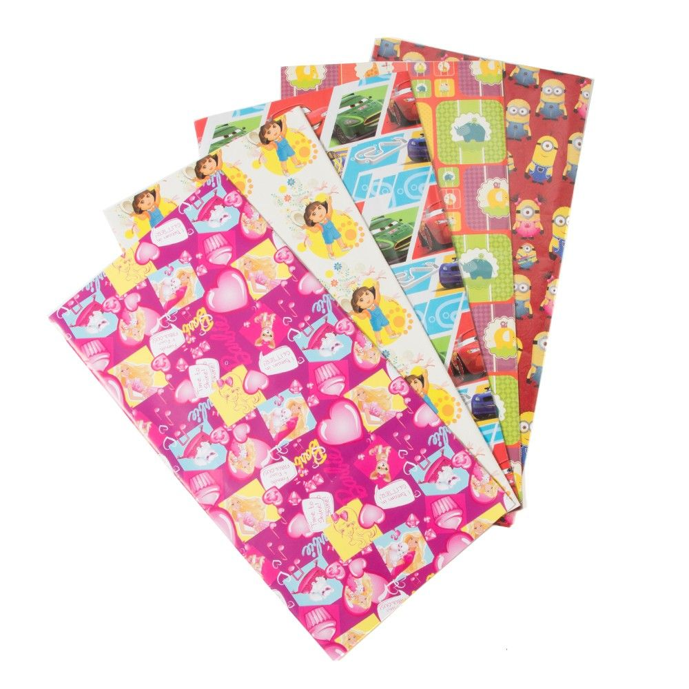 Assorted Wrapping Sheets (set Of 10) (5 Designs) - It's All About Me