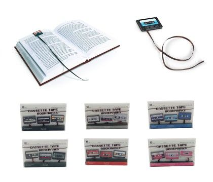 Cassette Tape Bookmark - Assorted 1 Unit - Tee-K-Dee