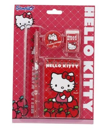 Hello Kitty 5 Pieces Stationery Set - My Baby Excel