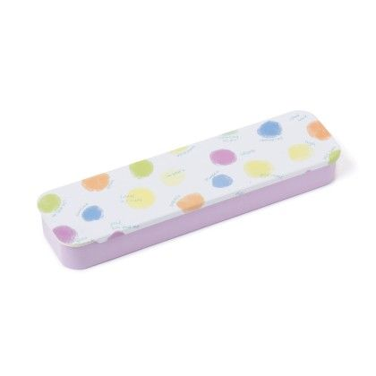 Polka Dots White Pencil Box - Sale Zone