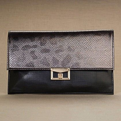 The Ashima Clutch - Black - The Label Life