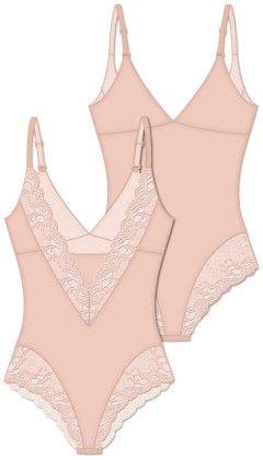 Fancy Fit Teddy - Pink - Rene Rofe
