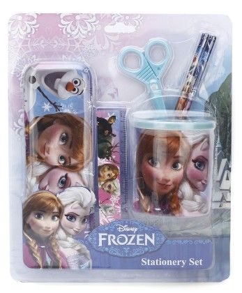 Frozen 6 Pieces Stationery Set - My Baby Excel