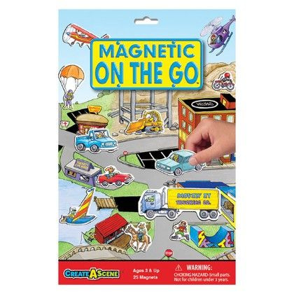 Create A Scene Magnetic On The Go - Play Monster
