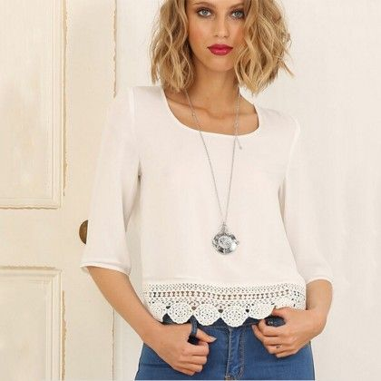 Lace Crop Top - Dell's World