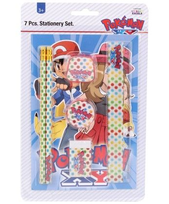 Pokemon 7 Pieces Stationey Set - My Baby Excel