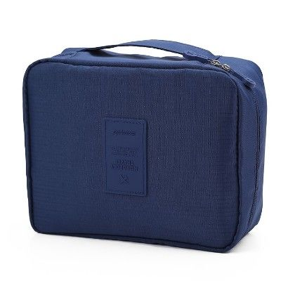 Navy Blue Travel Pouch - Organization Collection