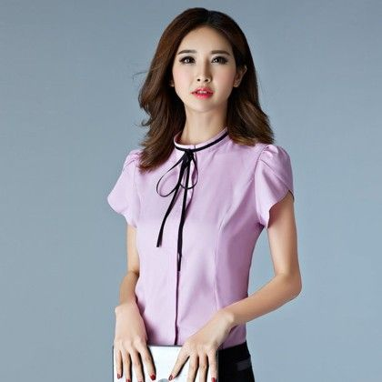 Work Wear Special Summer Shirt - Purple - Mauve Collection
