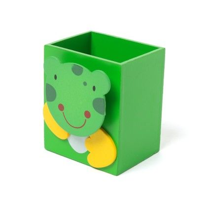 Green Wooden Animal Pen Stand - Sale Zone
