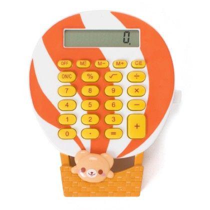 Mini Calculator (white & Orange) - It's All About Me