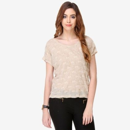Multi Colored Cotton Solid Top - Varanga